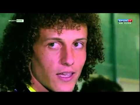 Entrevista do David Luiz para o SporTv