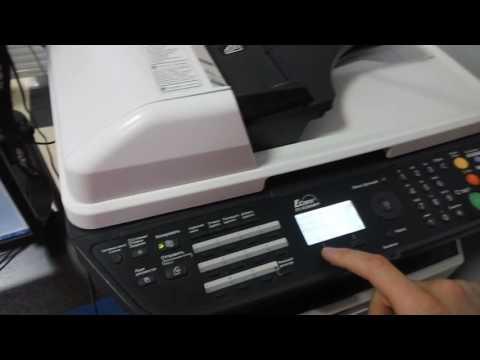 kyocera как копировать паспорт