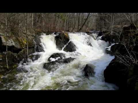 1 Hour Relaxing Waterfall Scene - Nature Ambience in HD ( Sleep, Study, Meditation, Relaxation )