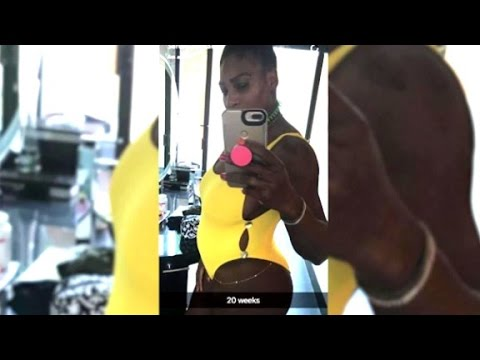 Serena Williams is definitely pregnant