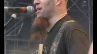 corey taylor of slipknot/stone sour playing with Anthrax.