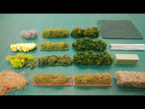 Modelling Hedge Substructures & Foliage