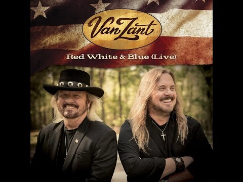 """Van Zant """"Red White & Blue (Live)"""" Official Lyric Video"""