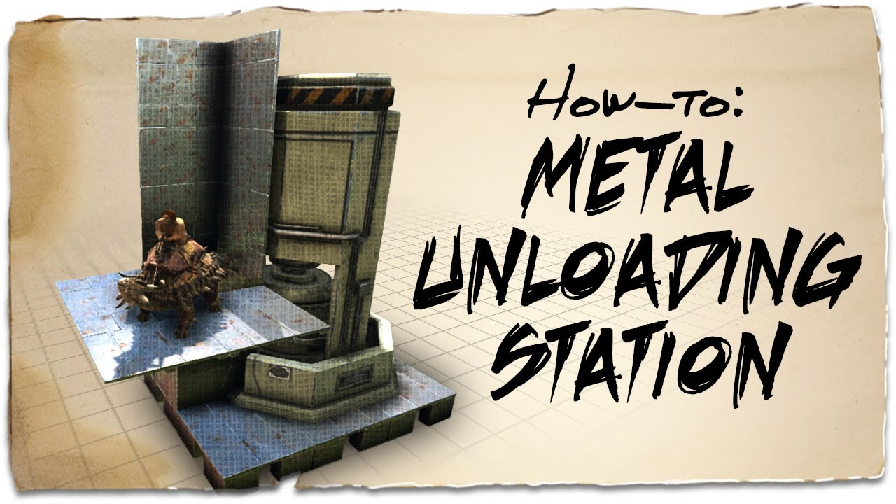How to build a metal unloading dock ark survival evolved how to build a metal unloading dock ark survival evolved building tips malvernweather Image collections