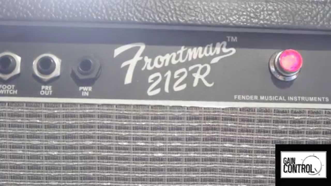 review fender frontman 212r en espa ol youtube. Black Bedroom Furniture Sets. Home Design Ideas