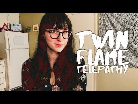 TWIN FLAME TALK: TELEPATHY