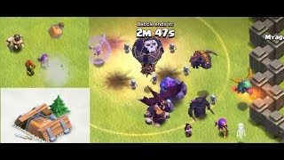 Clash of Clans SHRINK TRAP VS EVERY TROOPS l 5th CLASHIVERSARY SURPRISE l New Shrink Trap Gameplay