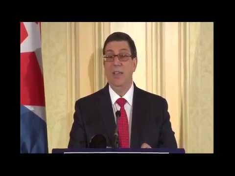 Conferencia de Prensa Bruno RodríguezCanciller de Cuba