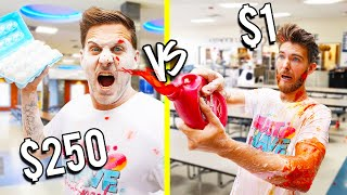 $1 VS $250 FOOD FIGHT! *Budget Challenge*