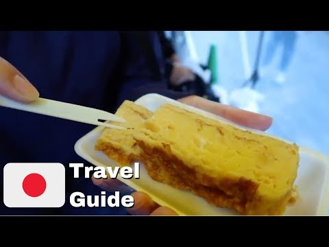 Tsukiji Fish Market Street Food | Japan Travel Guide
