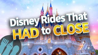 20 Disney Rides That Had to Close (and Why)