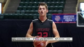 2017 17U DII AAU Boys Basketball Nationals - Lone Wolf Athletics vs. Central Western Red