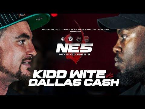 #KOTD - Rap Battle - Dallas Cash vs Kidd Wite | #GZ
