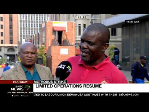 Limited Metrobus operations resume in Johannesburg