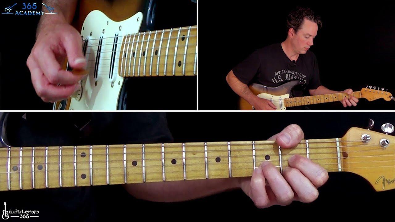 Depeche Mode Personal Jesus Guitar Lesson Youtube