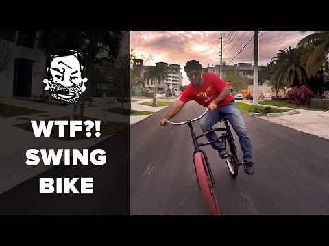 Swing bikes are trippy
