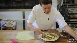 Rhubarb Pie At Thornbury Bakery Cafe - Part 4 - Latticework