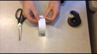 Möbiusband - så klipper man ett eget
