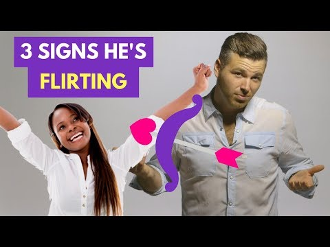 "3 Signs He's Flirting and NOT Just Being ""Nice"""