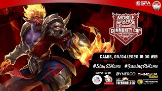 Mobile Legends Live : Ligagame Online Community Cup #4 | MLBB Indonesia