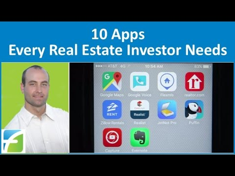 10 Apps Every Real Estate Investor Needs