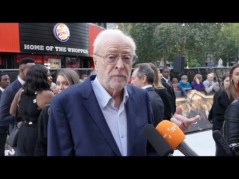Premiere: Sir Michael Caine, Jim Broadbent, Sir Tom Courtenay  King Of Thieves The  Carpet