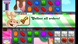 Candy Crush Saga Level 1614 walkthrough (no boosters)