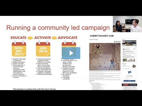 Advocating for your community