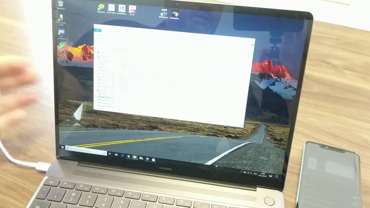 EMUI 9 Tipps Tricks: Huawei Share & Computer Share nutzen ...