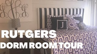 DORM ROOM TOUR: RUTGERS UNIVERSITY