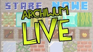 Archiwum LIVE! [#78] UHC na NOWYCH TEKSTURACH 1.13! :D | Road to 40k! :3