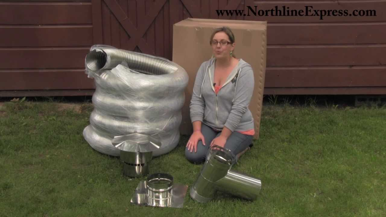 Diy Chimney Liner Single Wall Kit With Tee Youtube