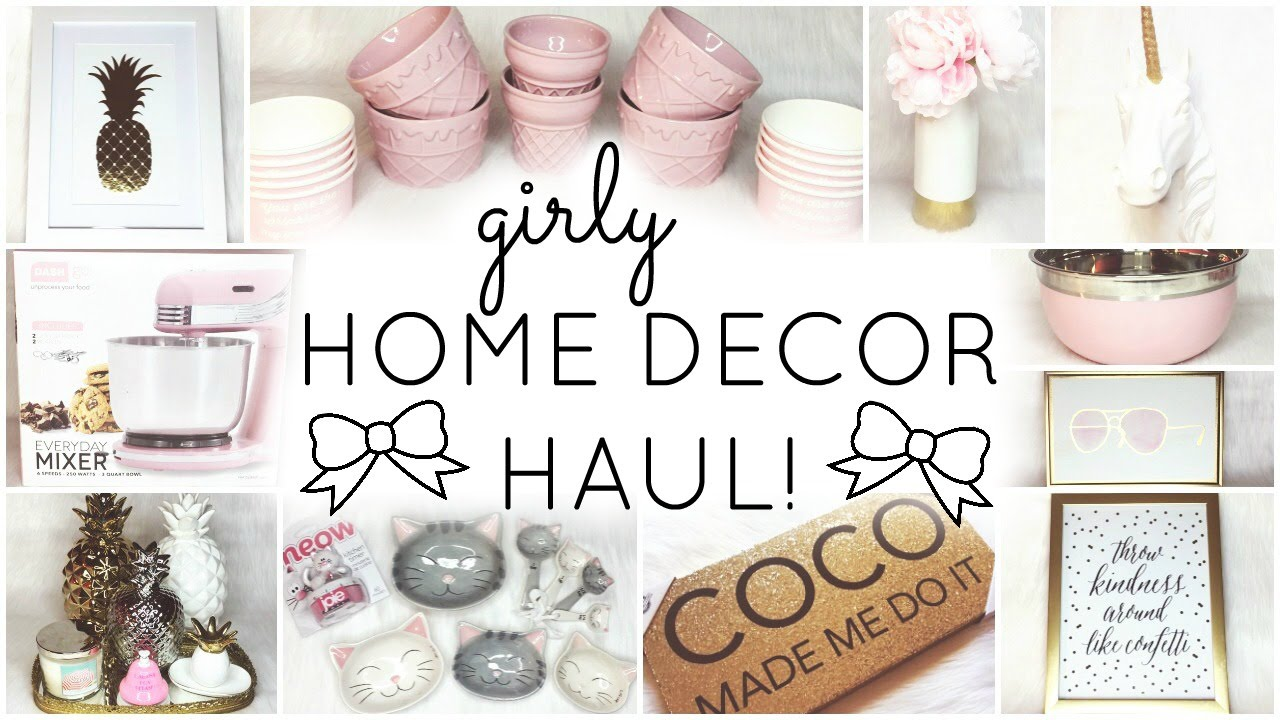 Home Decor Haul Homegoods Tj Maxx Hobby Lobby