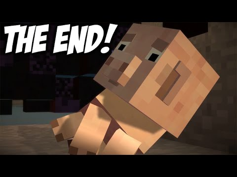 "Download ★Minecraft Story Mode - Episode 4 - THE SAD ENDING!  Final Part 4 ""A Block And A Hard Place""★ Mp4 baru"