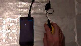 Checking function USB On the Go (OTG) smartphone Neo N003