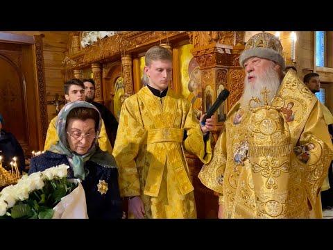 Проповедь в храме св.Владимира и мч.Людмилы