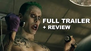 Suicide Squad Comic Con Trailer + Trailer Review : Beyond The Trailer