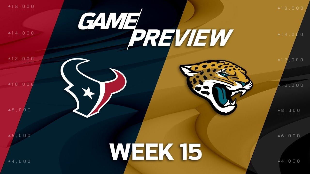 05e0bd70 Houston Texans vs. Jacksonville Jaguars | NFL Week 15 Game Preview | NFL  Playbook