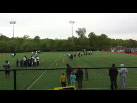 Madieu Williams football clinic