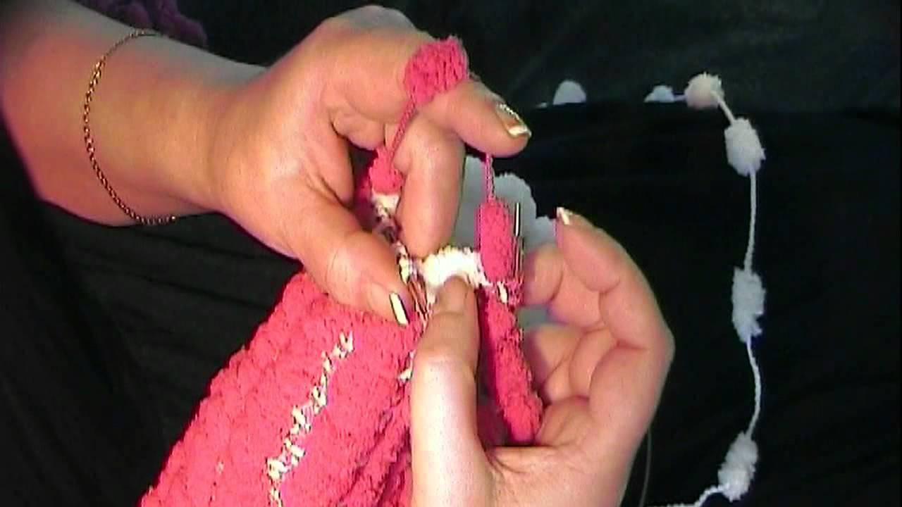 Ela Spaß Mit Pompon Wolle Zwei Seiten Zwei Farben Youtube