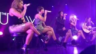 the Saturdays - Issues (acoustic) Highine Bllroom 1/17/13