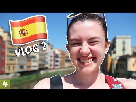 ICE CREAM IN GIRONA! - Spain Vlog 2