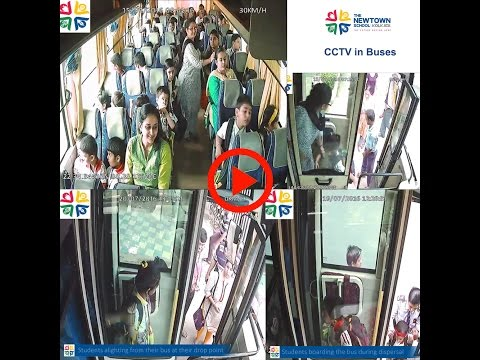 CCTV in Buses at THE NEWTOWN SCHOOL KOLKATA