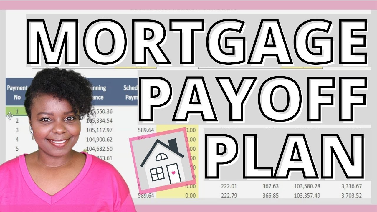 MORTGAGE PAYOFF PLAN   Amortization Schedule   Pay Off Mortgage   Baby Step 6   Debt Free Journey
