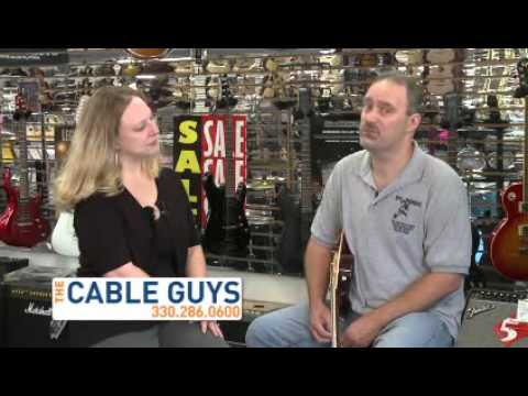 Comcast Spotlight Cable TV - DC Music Store Cable Guy 2010 commercial