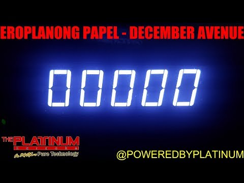 Eroplanong Papel - December Avenue (PH Karaoke)