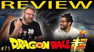 Dragon Ball Super [ENGLISH DUB] Review!!! Episode 71