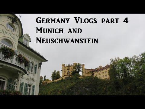 Germany Vlogs part 4 - Munich and Neuschwanstein Castle