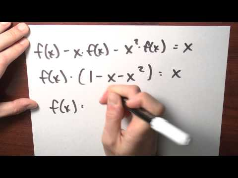 What Is A Formula For The Fibonacci Numbers? - Week 5 - Lecture 13 - Sequences And Series