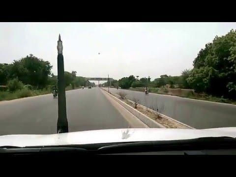 Hyderabad Mirpurkhas Expressway near Tando Jam, Sindh Pakistan
